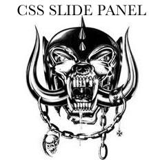 CSS SLIDE PANEL