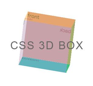css3-3D-Box